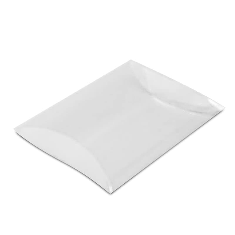 clear plastic pillow boxes 6 x 1 1 2 x 7 1 2 quantity 50 by paper mart walmart com