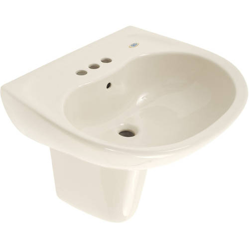 toto supreme 22 7 8 wall mounted bathroom sink with 3 faucet holes drilled overflow and sanagloss ceramic glaze available in various colors