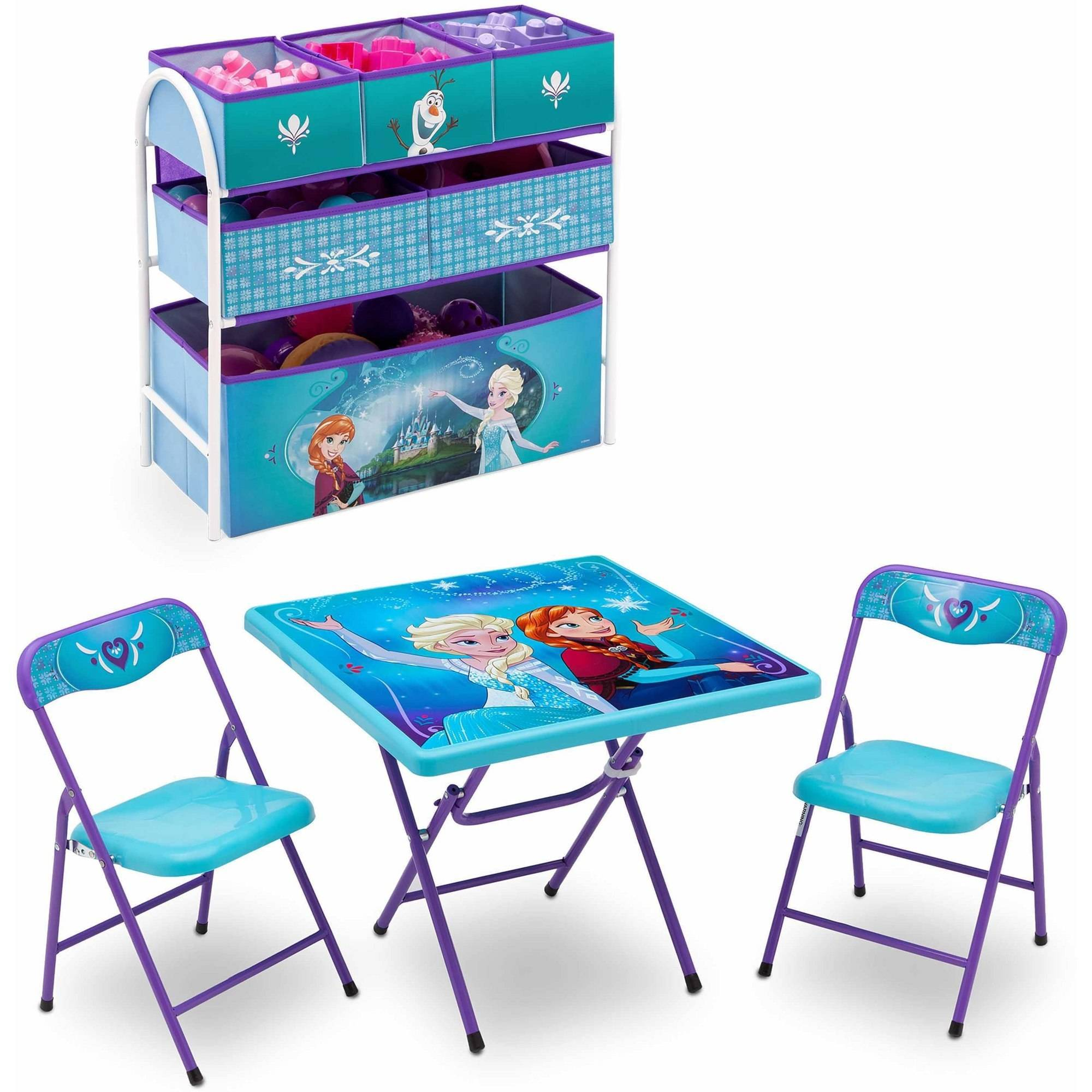 disney table and chair set pad covers for sale frozen playroom 43 metal multi