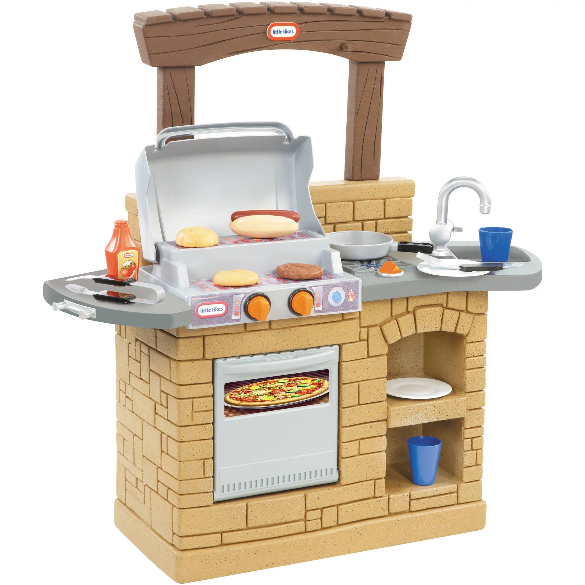bbq kitchen utilities little tikes cook n play outdoor grill for kids ebay