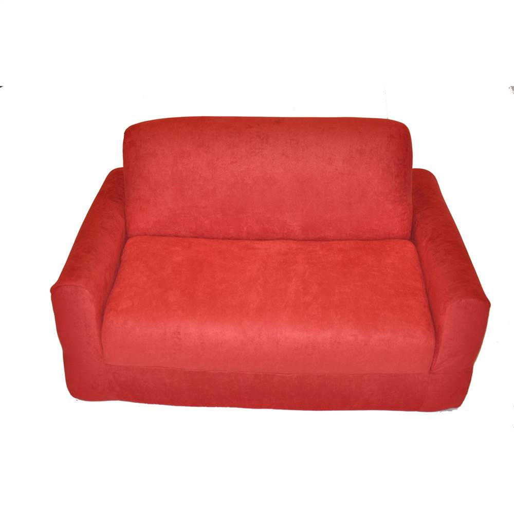 child sleeper sofa ashton 2 seater futon bed micro suede size with pillows walmart com