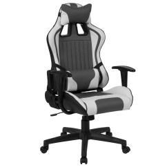 Ab Swivel Chair The Blue Chairs Puerto Vallarta Flash Furniture Cumberland Comfort Series High Back Gray And White Executive Reclining Racing Gaming With Adjustable Lumbar Support