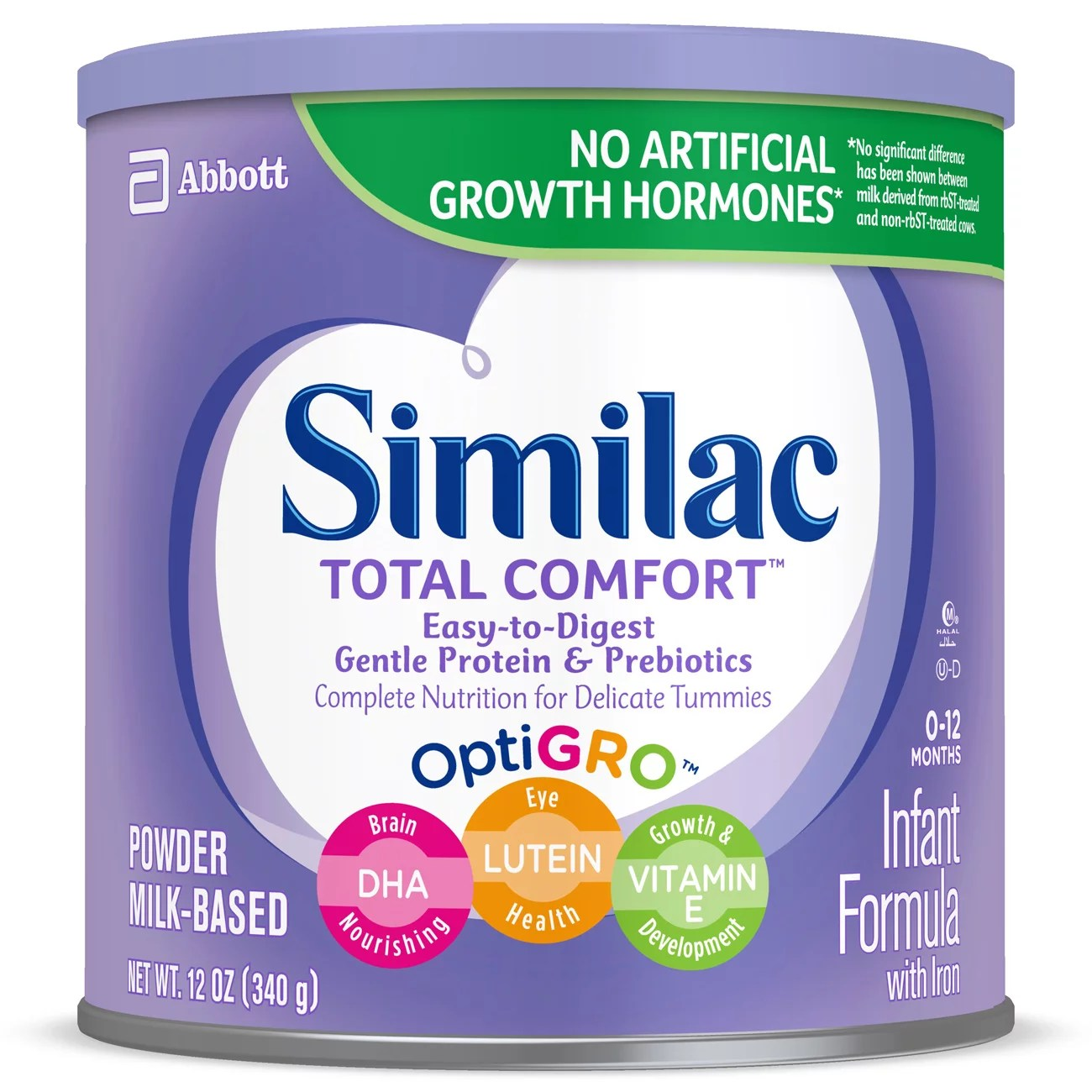 Similac Total Comfort Infant Formula with Iron Powder 12 ...