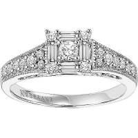 Keepsake Sincerity 1/2 Carat T.W. Certified Diamond 10kt ...