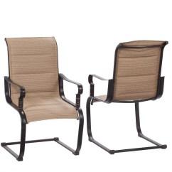 Sling Chair Outdoor Posture Brace Hampton Bay Fcs80198c 2pk Belleville Rocking Padded Dining Chairs 2 Pack Walmart Com