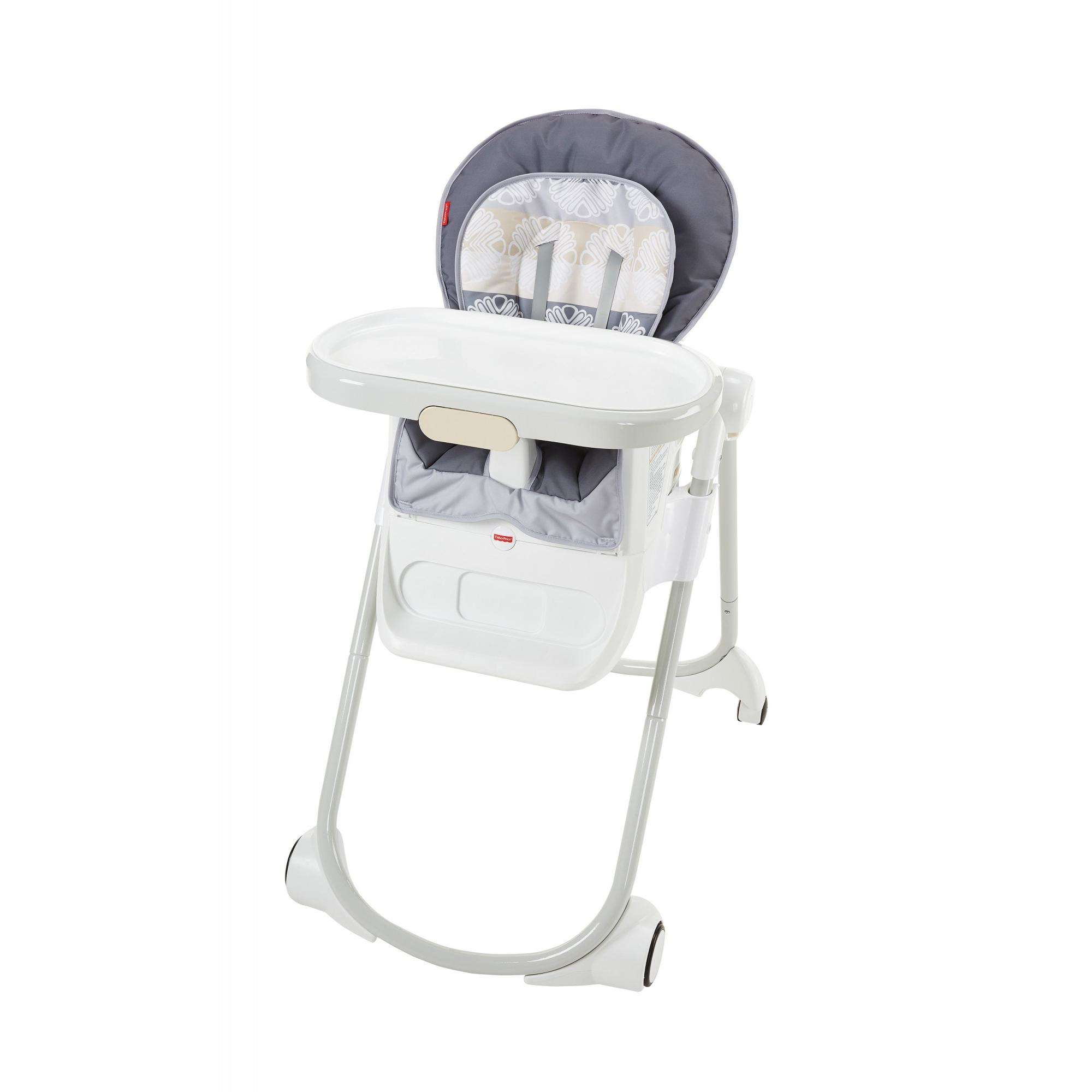 High Chair Fisher Price Fisher Price 4 In 1 Total Clean High Chair Walmart