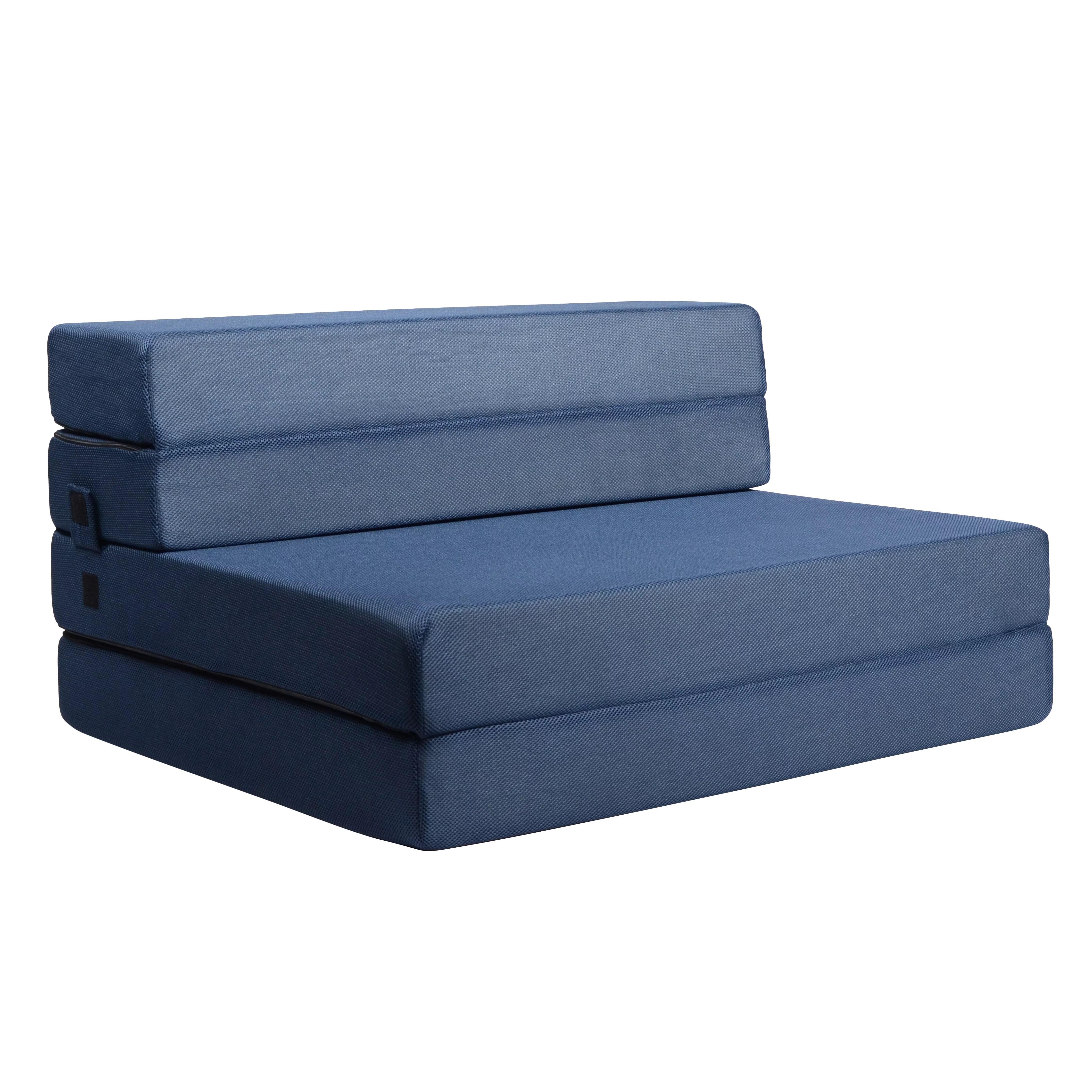 Milliard Tri Fold Foam Folding Mattress And Sofa Bed For Guests Or Floor Mat Twin Xl 78x38x4 5 Inch Walmart Com Walmart Com
