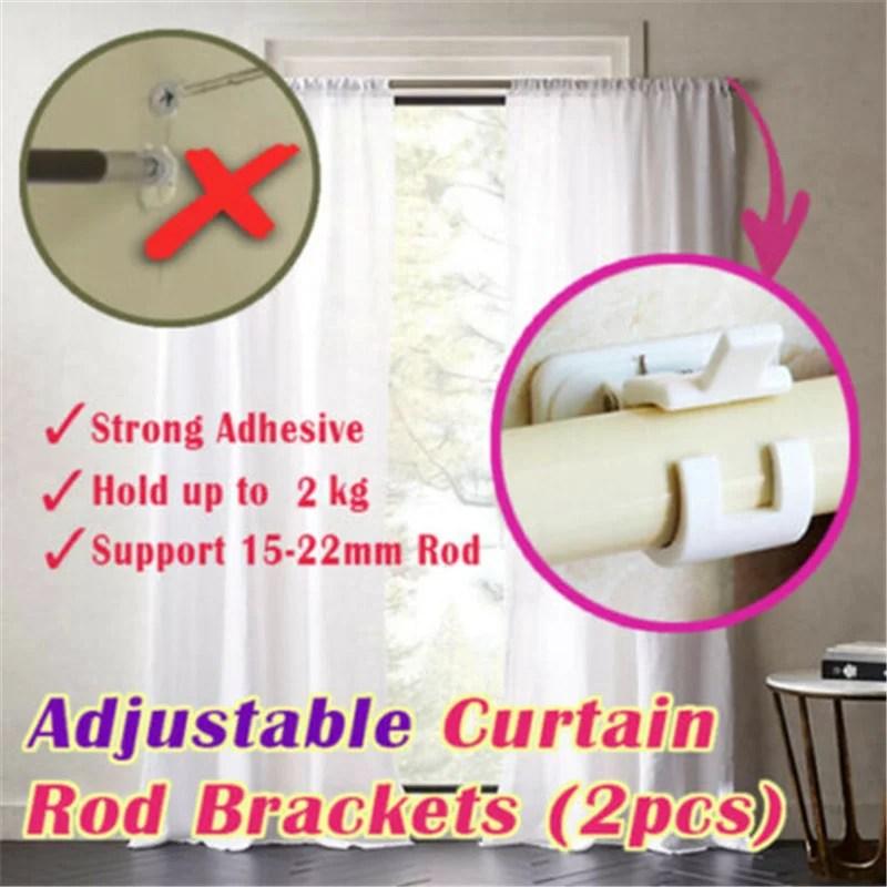kwik hang curtain rod bracket