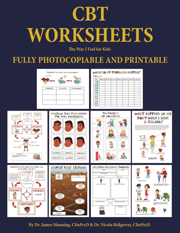 Cbt Worksheets The Way I Feel For Kids Cbt Worksheets
