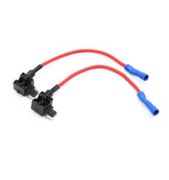 2pcs add a circuit tap adapter low profile fuse box holder for car walmart com [ 1100 x 1100 Pixel ]