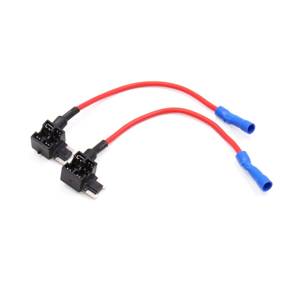 medium resolution of 2pcs add a circuit tap adapter low profile fuse box holder for car walmart com