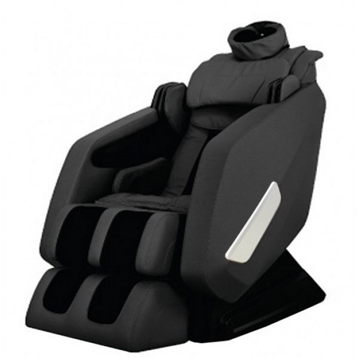 fujita massage chair review chairs good for back smk9600 l track heating air foot roller weightless stretch black new