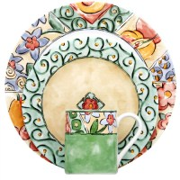 Corelle Livingware Watercolors 16 Piece Dinnerware Set ...