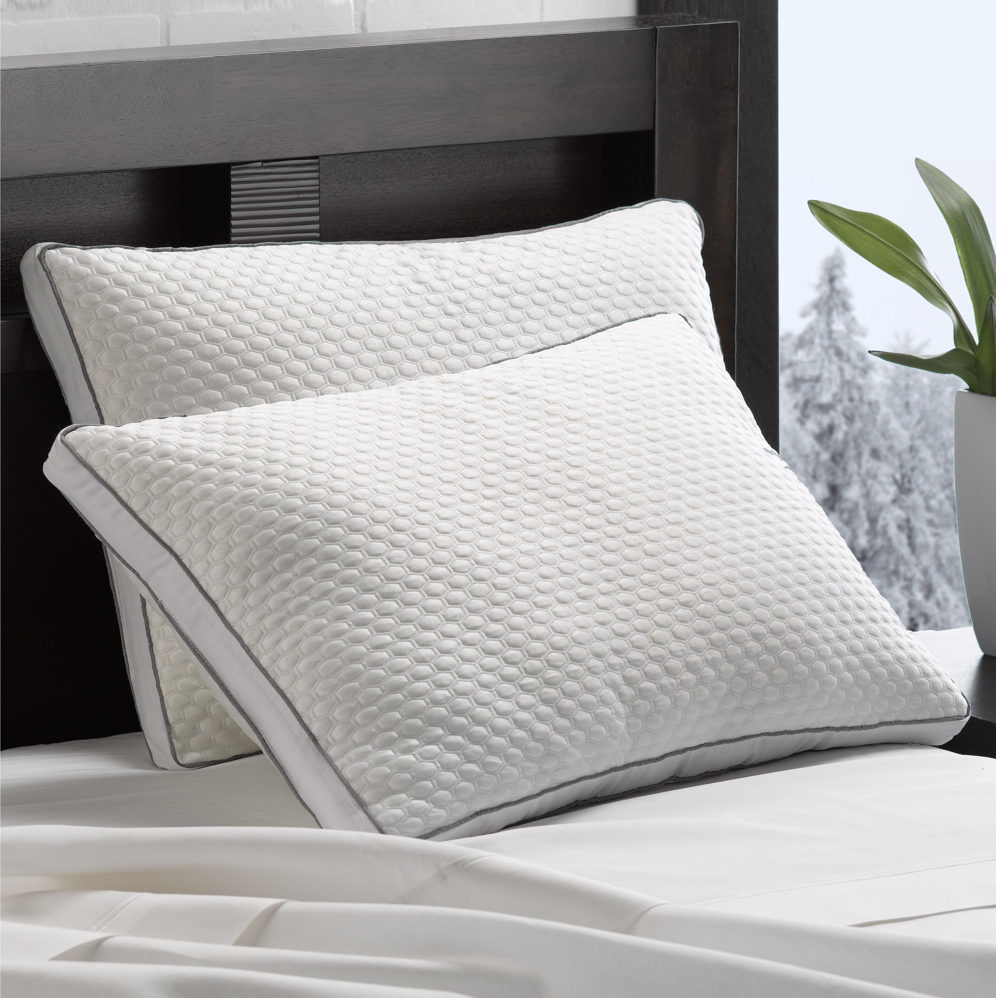 arctic chill super cooling gel fiber pillow
