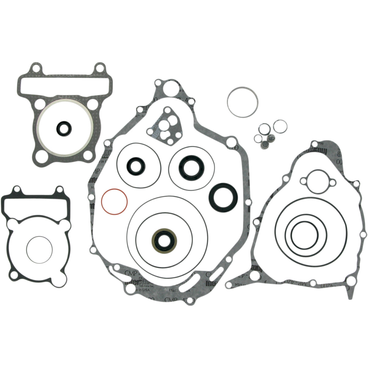 Moose Racing Complete Engine Gasket Kit W Oil Seals