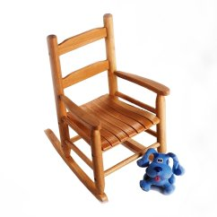 Rocking Chair Kids Retro Swivel Lipper International Child S Pecan Finish Walmart Com
