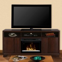 Dimplex Arkell Entertainment Center Electric Fireplace ...