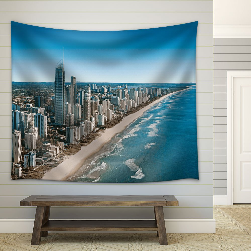 Wall26 Aerial View City New Zealand Fabric Wall