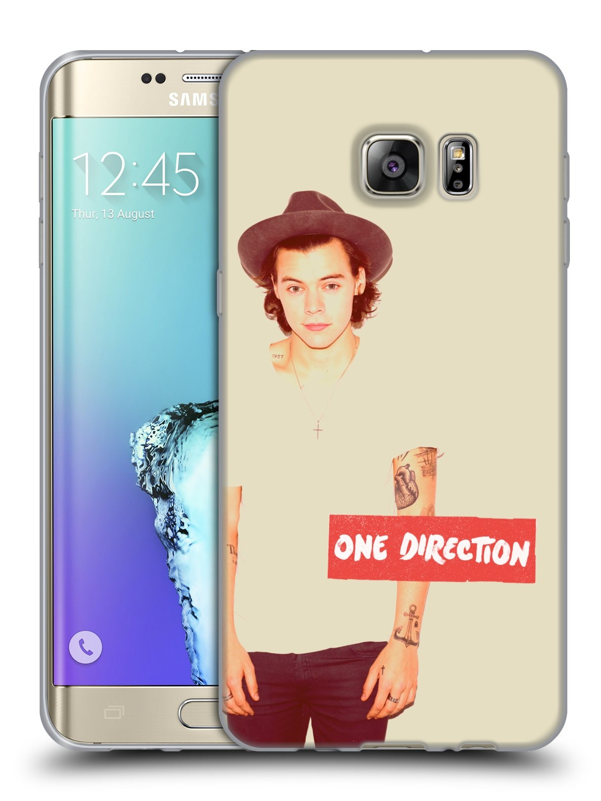 hight resolution of official one direction harry photo filter soft gel case for samsung phones 1 walmart com