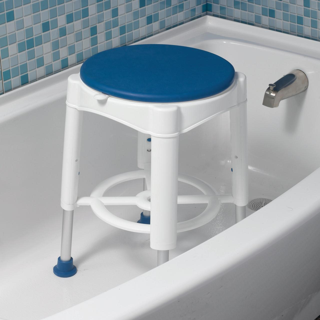 salle de bain de securite pivotant siege de douche tabouret