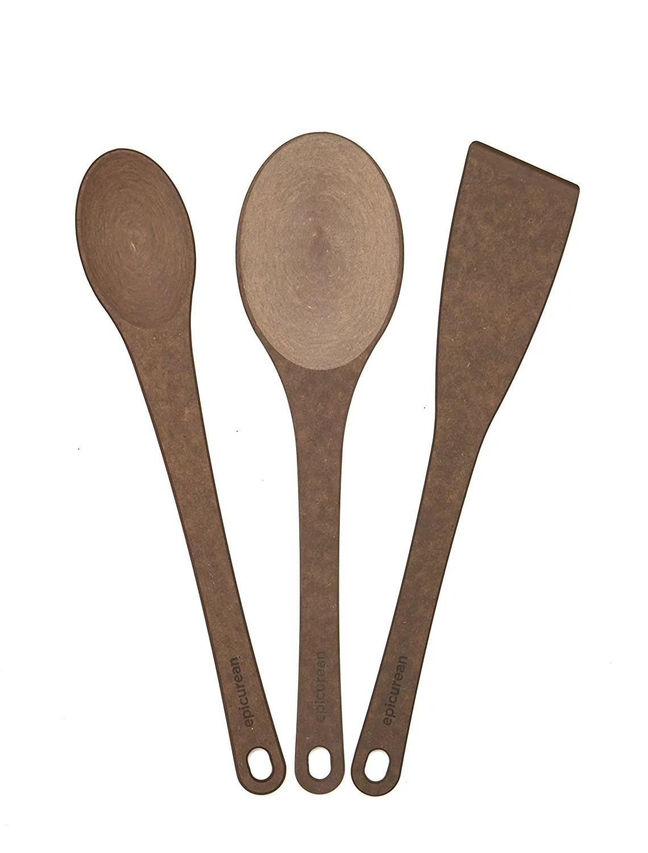 Epicurean Kitchen Series 3piece Utensil Set Nutmeg
