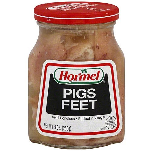 Hormel SemiBoneless Pigs Feet 9 oz Pack of 12