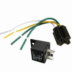 car auto dc 12v 30 40a automotive 4 pin 4 wire relay socket 30amp 40amp walmart com [ 1200 x 1200 Pixel ]