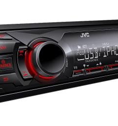jvc kd x200 single din digital media receiver w usb ipod controls and pandora control walmart com [ 3000 x 1950 Pixel ]
