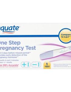 also equate one step pregnancy test walmart rh