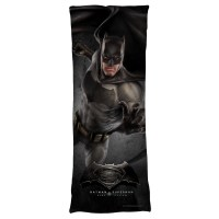 Batman V Superman Batman Plush Fleece Body Pillow White