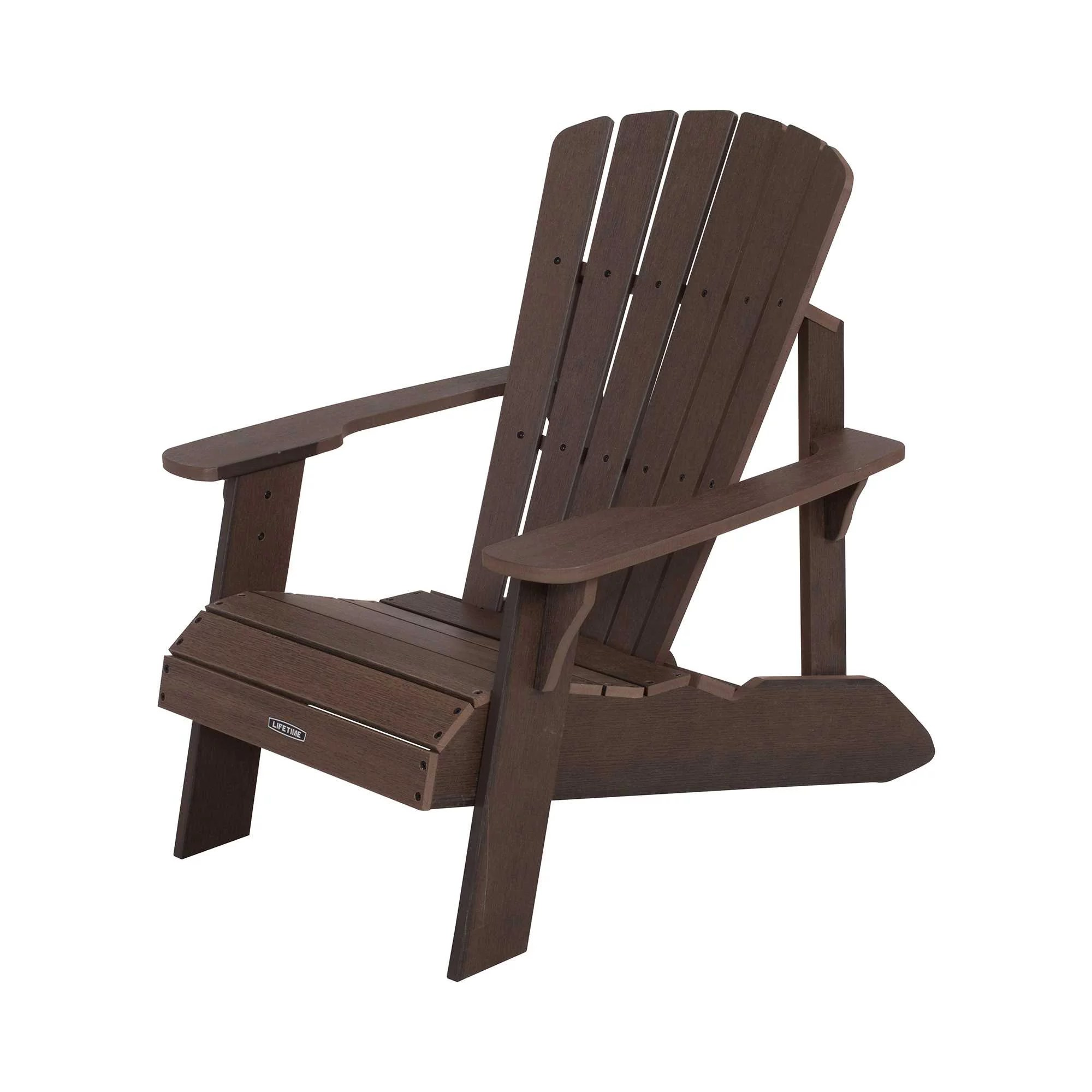 Lifetime Adirondack Chair Lifetime Adirondack Chair Rustic Brown 60289