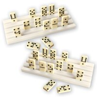 Domino Tile Rack Holders - Set Of 2 By Collections Etc ...