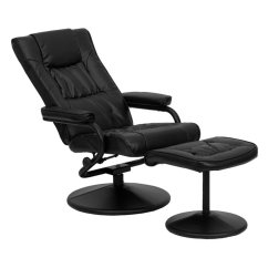 Recliner Vs Chair With Ottoman Tennis Umpire Plans Flash Furniture Contemporary Leather And Multiple Colors Walmart Com