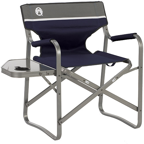 coleman deck chair with table aluminum camping chairs folding side walmart com