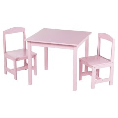 Kids Chair Set Custom High Covers Tms Hayden 3 Piece Table And Multiple Colors Walmart Com