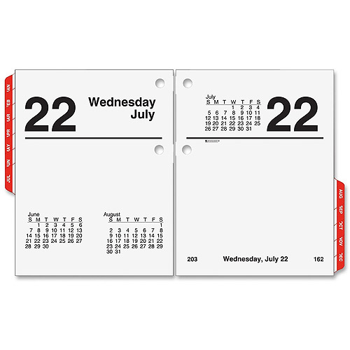 Office Products 4-1/2 x 7-3/8 AT-A-GLANCE 2019 Daily Desk