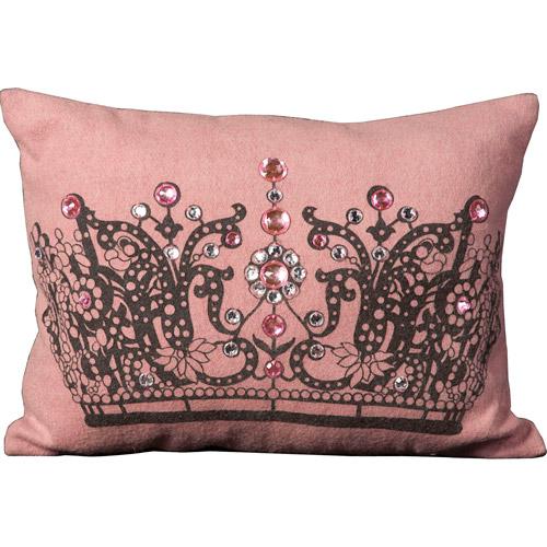 Nourison New Generation Jeweled Crown Decorative Pillow