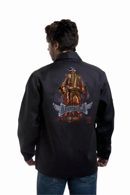"""TILLMAN 9061 """"BACKBONE of AMERICA"""" WELDING JACKET – XL By J Tillman"""