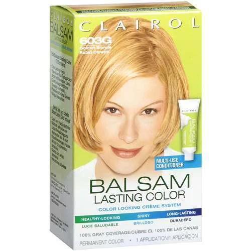 Clairol Golden Blonde Balsam Lasting Color 1 Ct