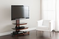 Fitueyes Tv Stand with Swivel Mount Bracket for 42-70 Inch ...