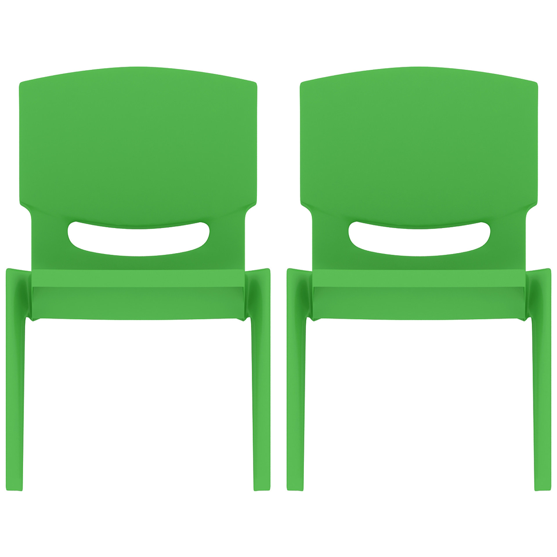children s chair seat height vintage high for sale 2xhome set of 2 two green kids size plastic side