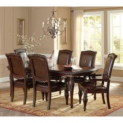 Steve Silver Dining Chairs Chair Leg Noise Reduction Carolyn 5 Piece Table Set Walmart Com