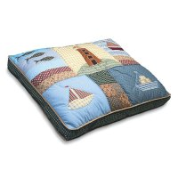 Petmate Quilted Dog Bed in Nautical - Walmart.com