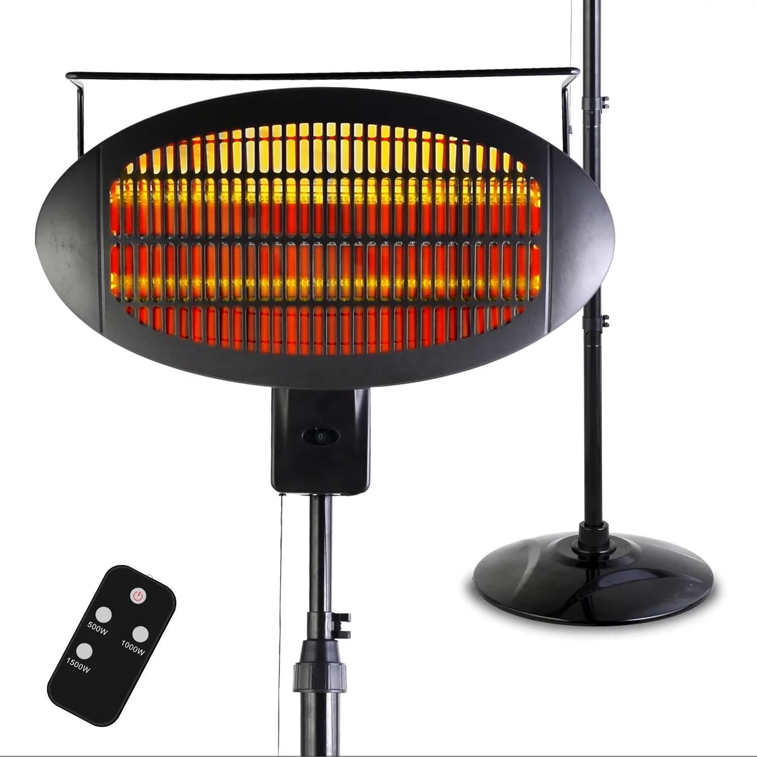 hiland tabletop electric patio heater