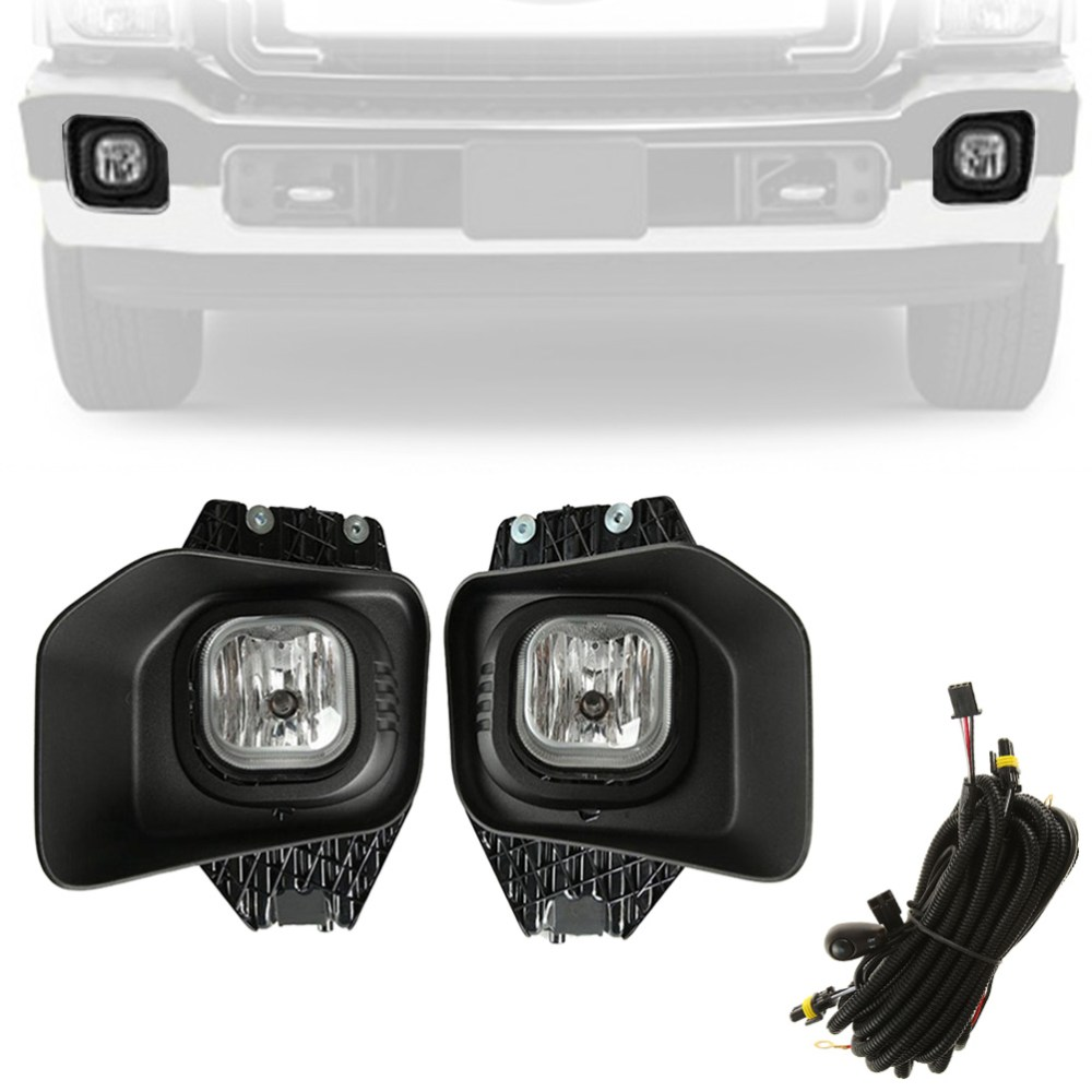 medium resolution of beamnova fog lights kit assembly with wiring harness relay and switch for ford super duty xlt f 250 f 350 f 450 f 550 2011 2012 2013 2014 2015 2016