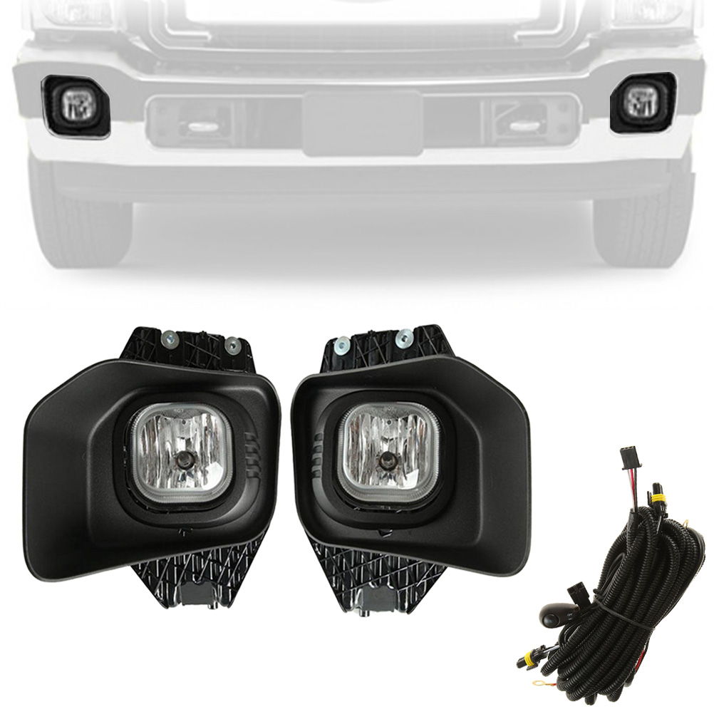 hight resolution of beamnova fog lights kit assembly with wiring harness relay and switch for ford super duty xlt f 250 f 350 f 450 f 550 2011 2012 2013 2014 2015 2016
