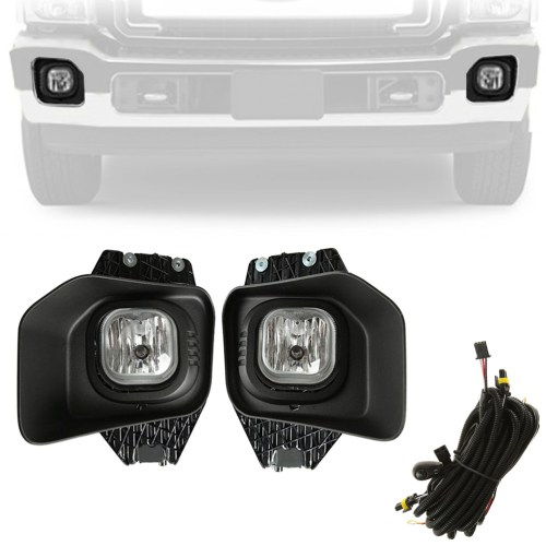 small resolution of beamnova fog lights kit assembly with wiring harness relay and switch for ford super duty xlt f 250 f 350 f 450 f 550 2011 2012 2013 2014 2015 2016