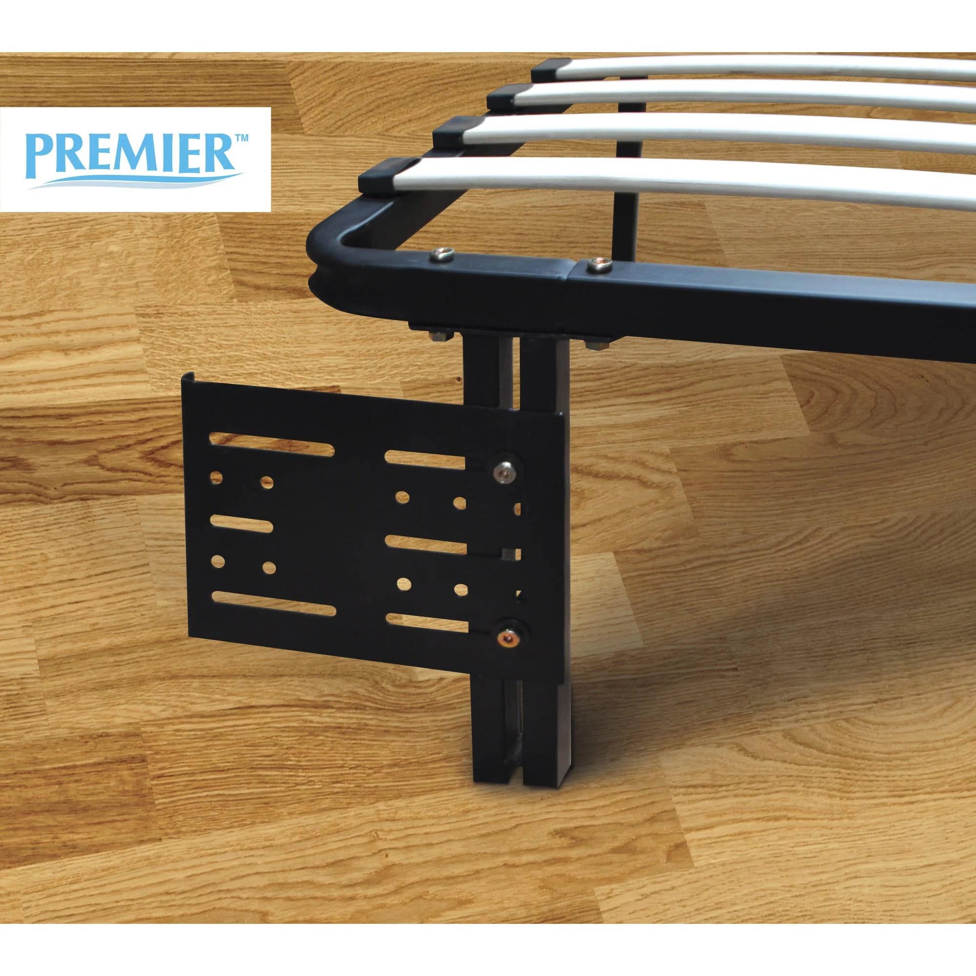 Premier Flex HeadboardFootboard Brackets Black