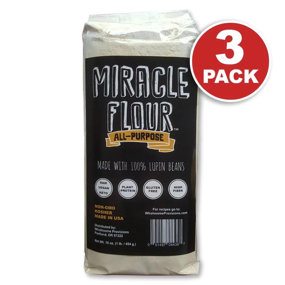 100% Lupin Flour Non-GMO Made in USA All Purpose ...