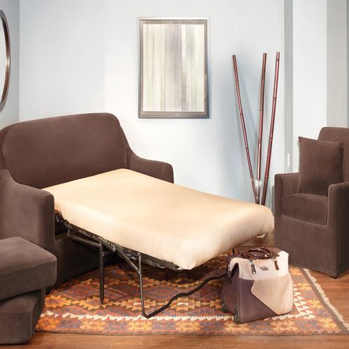 sure fit stretch pearson 3 pc sleeper sofa slipcover full twin bed surefit 3pc slipcov walmart com